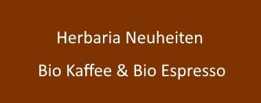 Bio Kaffee und Bio Espresso