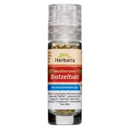 Mediterranes Brotzeitsalz Mini-Mühle bio