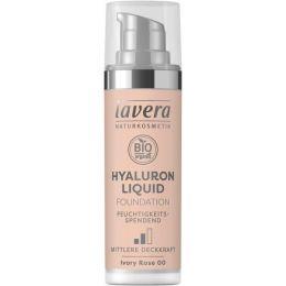 Hyaluron Liquid Foundation - Ivory Rose 00