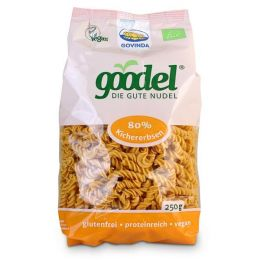 Goodel Nudeln Kichererbse - Leinsaat Bio Spirelli
