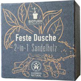 Feste Dusche 2-in-1 Sandelholz Nr. 139