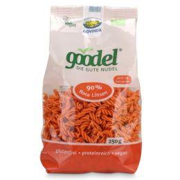 Goodel Nudeln Rote Linsen - Leinsaat Bio