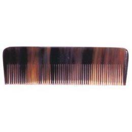 Horn Mini-Taschenkamm fein 8 cm
