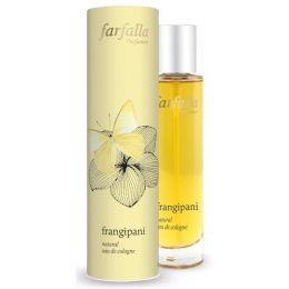 frangipani, natural eau de cologne