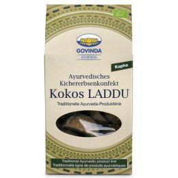 Ayurvedisches Kichererbsenkonfekt Laddu Kokos bio