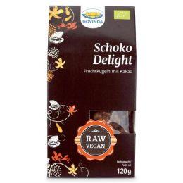 Schoko Delight Fruchtkugeln mit Kakao