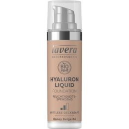 Hyaluron Liquid Foundation - Honey Beige 04