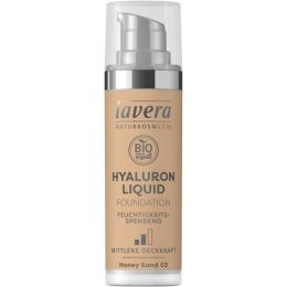 Hyaluron Liquid Foundation - Honey Sand 03