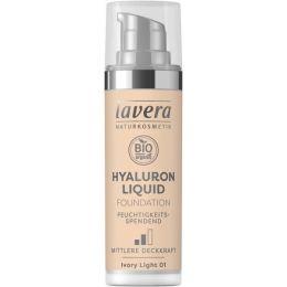 Hyaluron Liquid Foundation - Ivory Light 01