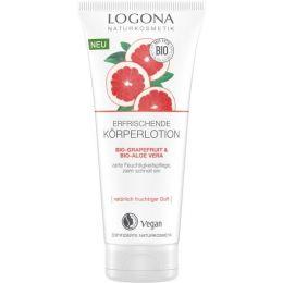 Erfrischende Körperlotion Bio-Grapefruit & Bio-Aloe Vera