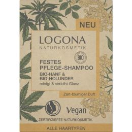 Festes Pflege-Shampoo Bio-Hanf & Bio-Holunder