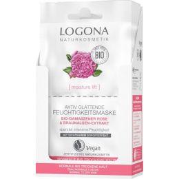 Moisture Lift Aktiv glättende Feuchtigkeitsmaske Bio-Damaszener Rose