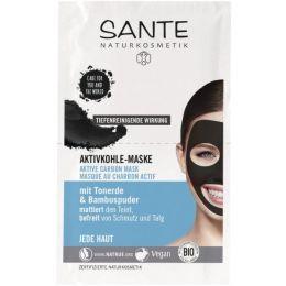 Aktivkohle-Maske