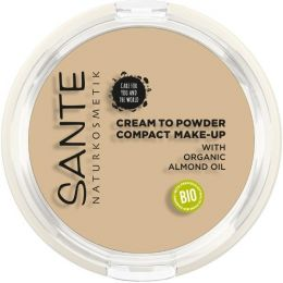 """Compact Make-up """"Cream to Powder"""" 01 Cool Ivory"""