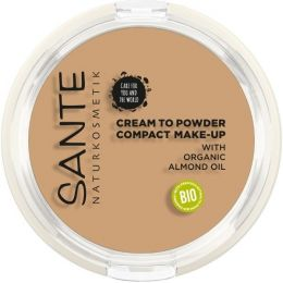 """Compact Make-up """"Cream to Powder"""" 03 Cool Beige"""