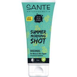 Duschgel Summer Morning Shot Bio-Minze & Bio-Ingwer