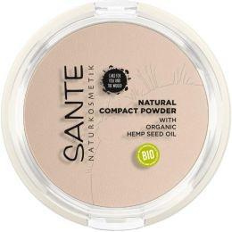 Natural Compact Powder 01 Cool Ivory