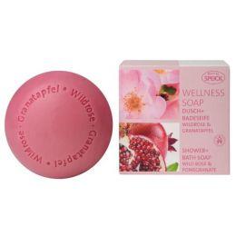 Wellness Soap Wildrose & Granatapfel