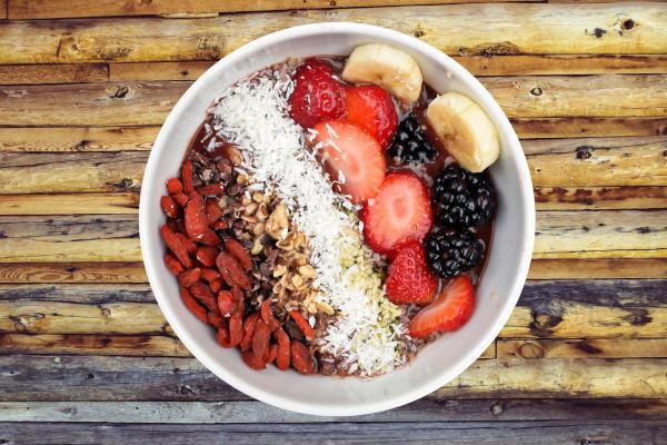 gesunde energiereiche Superfoods